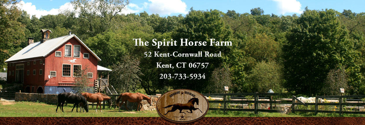 THE SPIRIT HORSE FARM 52 Kent Cornwall Rd Kent, CT 06757